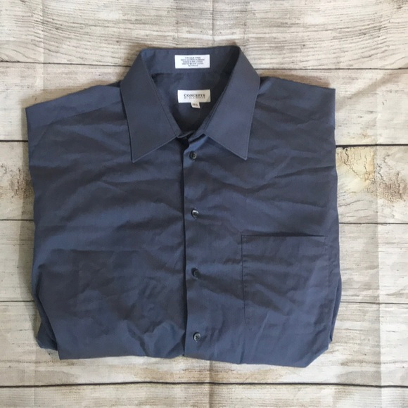 Claiborne Other - CONCEPTS by Claiborne Wrinkle Free Dress Shirt